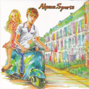 "ALPACA SPORTS - ""I was running"" SINGLE 7"" (Dufflecoat / Luxury, 2012)"