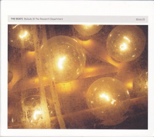 "THE BOATS - ""Ballads of the research development"" CD (12k, 2012)"