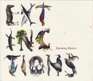 "BURNING HEARTS - ""Extinctions"" CD / LP (Shelflife / Solina, 2012)"