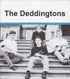 "THE DEDDINGTONS - ""The Deddingtons"" CD (Cloudberry, 2012)"