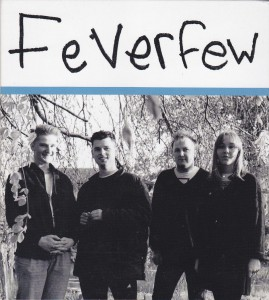 "FEVERFEW - ""Something of nothing"" CD (Cloudberry, 2012)"