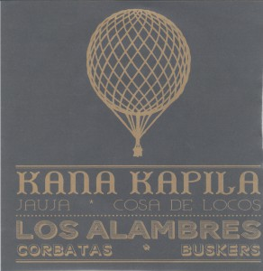 "KANA KAPILA / LOS ALAMBRES - ""Split"" SINGLE 7"" (Discos Walden, 2012)"