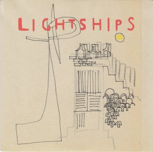 "LIGHTSHIPS - ""Sweetness in her spark"" SINGLE 7"" (Geographic / Domino, 2012)"