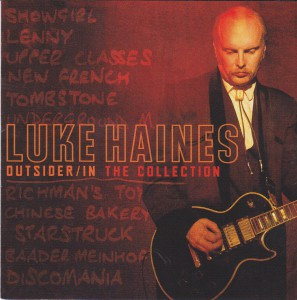 "LUKE HAINES - ""Outsider / in. The collection"" 2CD (Emi, 2012)"