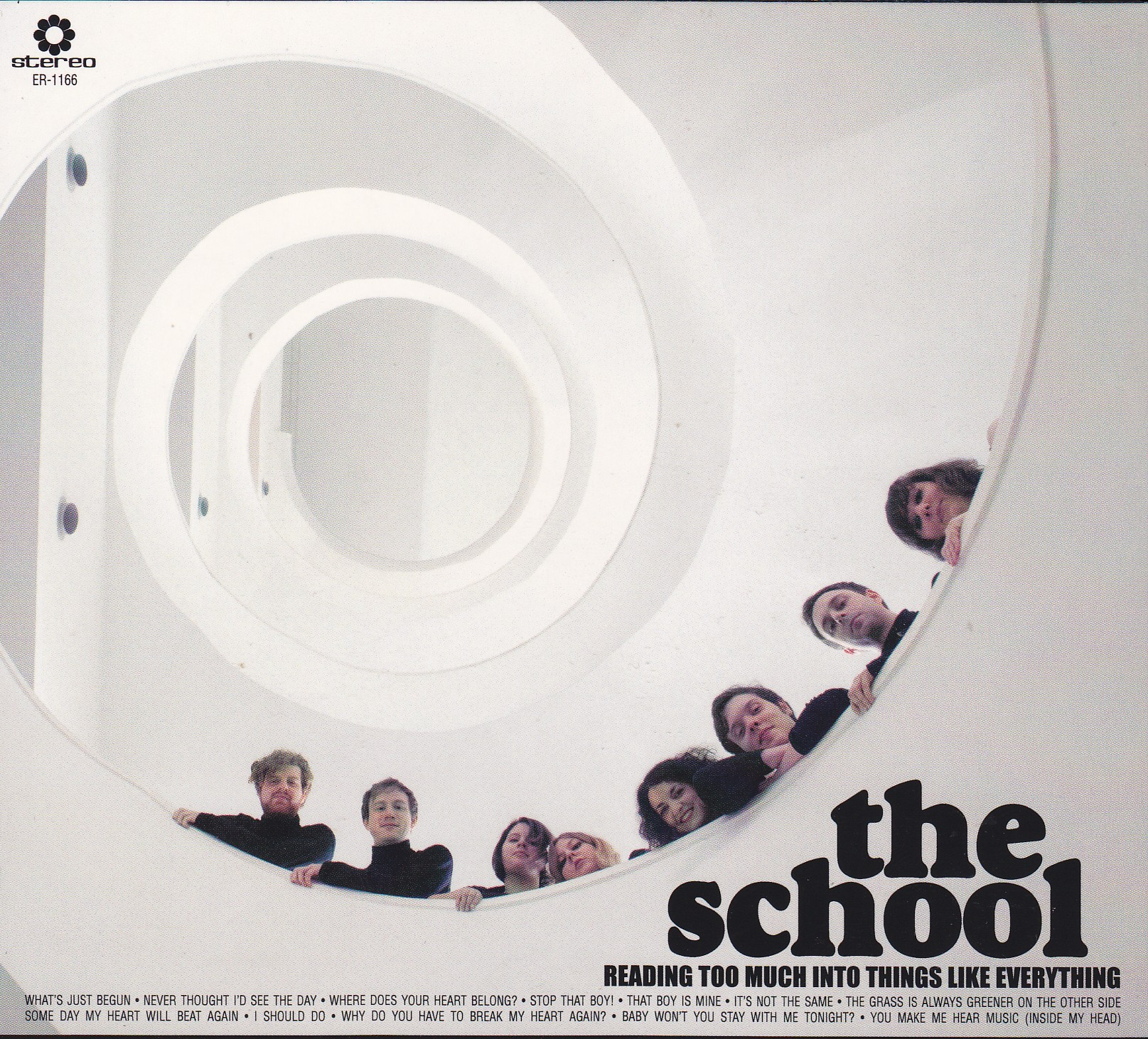"THE SCHOOL - ""Reading too much into things like everything"" CD / LP (Elefant, 2012)"