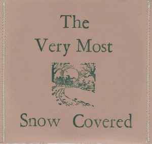 VeryMost-SnowCoveredEP-CDS-L