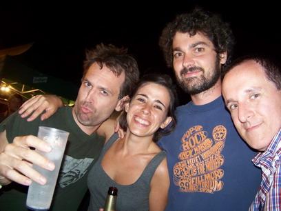 Sebastián (TRANS AM) + Ana + José Roca + Rafa Skam